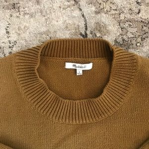 Madewell // Boxy Sweater with Button Detail